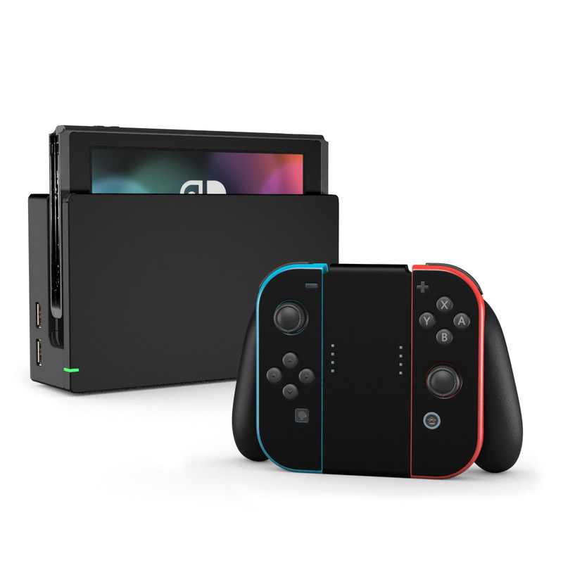 Nintendo Switch Skin Solid State Black By Solid Colors