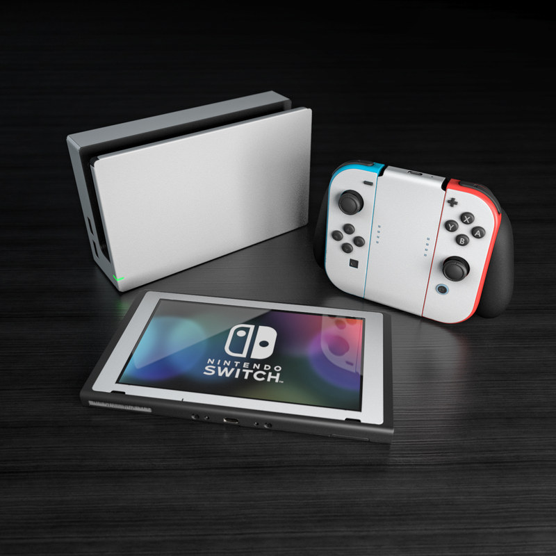 Nintendo Switch Skin Solid State White By Solid Colors