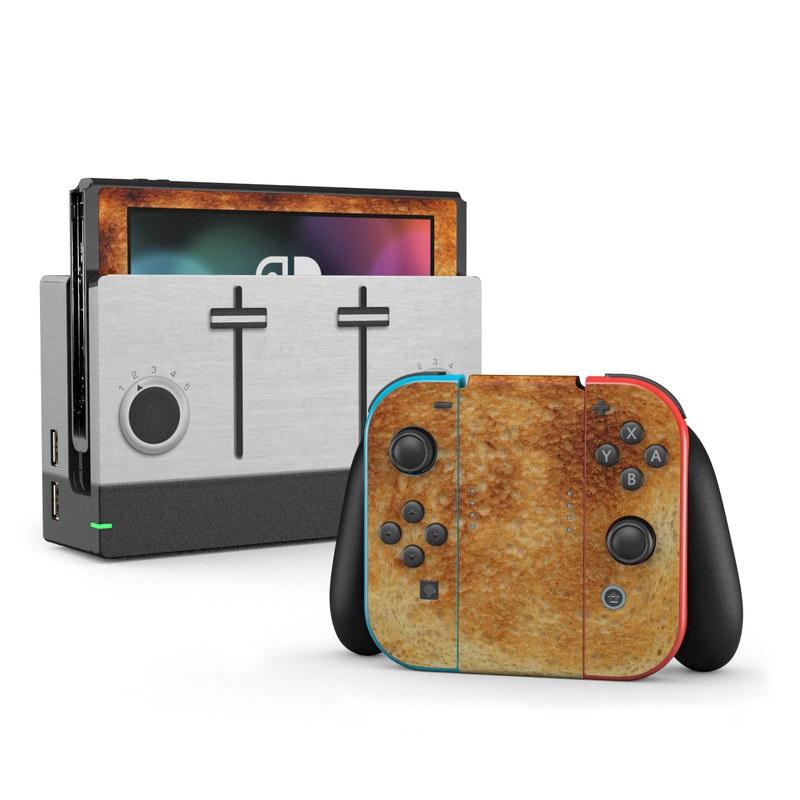Nintendo Switch Skin Toastendo By Gaming Decalgirl