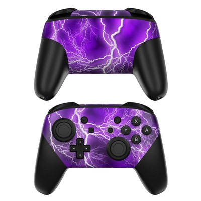 Nintendo Switch Pro Controller Skin - Apocalypse Violet