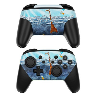 Nintendo Switch Pro Controller Skin - Above The Clouds