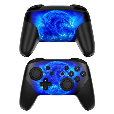 Nintendo Switch Pro Controller Skin - Blue Giant