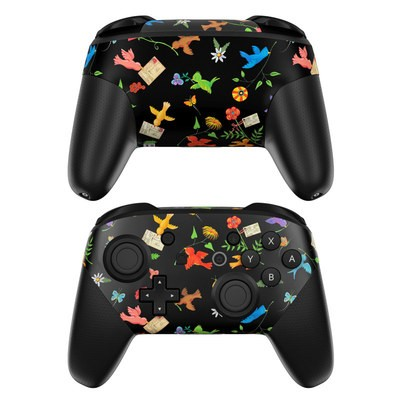 Nintendo Switch Pro Controller Skin - Birds