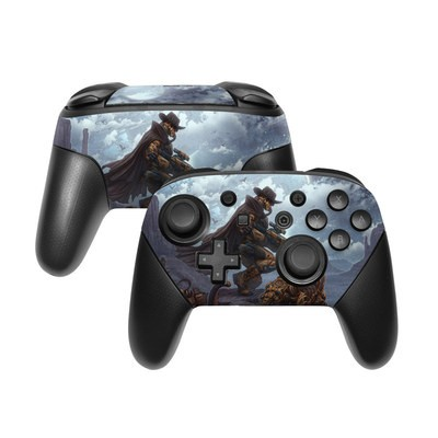 Nintendo Switch Pro Controller Skin - Bounty Hunter