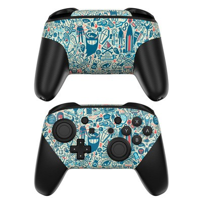 Nintendo Switch Pro Controller Skin - Committee
