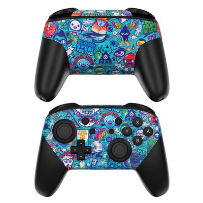 Nintendo Switch Pro Controller Skin - Cosmic Ray