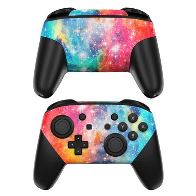 Nintendo Switch Pro Controller Skin - Galactic