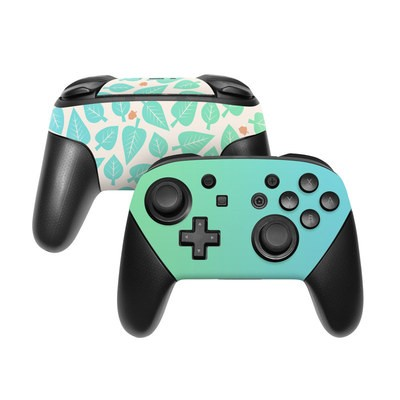 Nintendo Switch Pro Controller Skin - Happy Camper