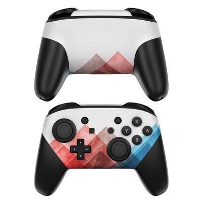 Nintendo Switch Pro Controller Skin - Journeying Inward