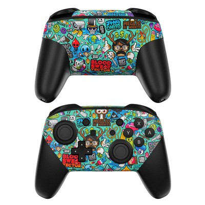 Nintendo Switch Pro Controller Skin - Jewel Thief