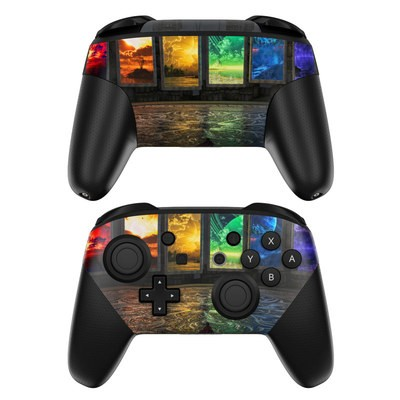 Nintendo Switch Pro Controller Skin - Portals