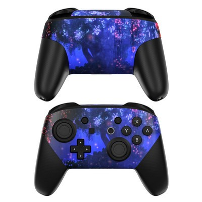 Nintendo Switch Pro Controller Skin - Satori Night