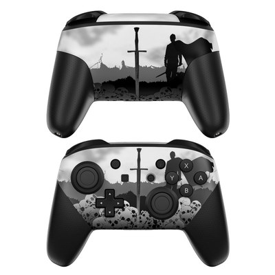 Nintendo Switch Pro Controller Skin - Slayer