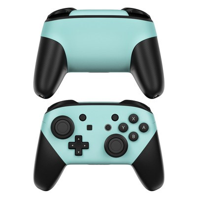 Nintendo Switch Pro Controller Skin - Solid State Mint