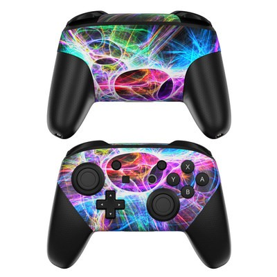 Nintendo Switch Pro Controller Skin - Static Discharge