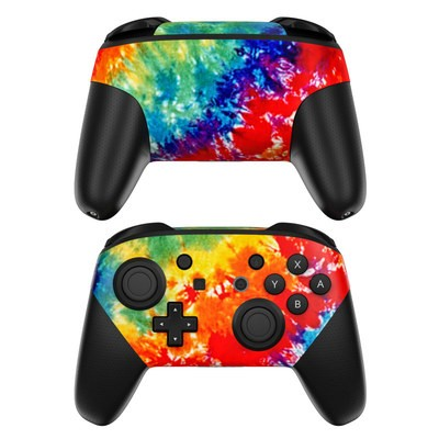 Nintendo Switch Pro Controller Skin - Tie Dyed