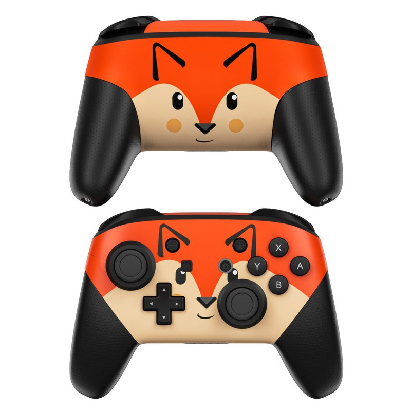 Nintendo Switch Pro Controller Skin - Autumn the Fox