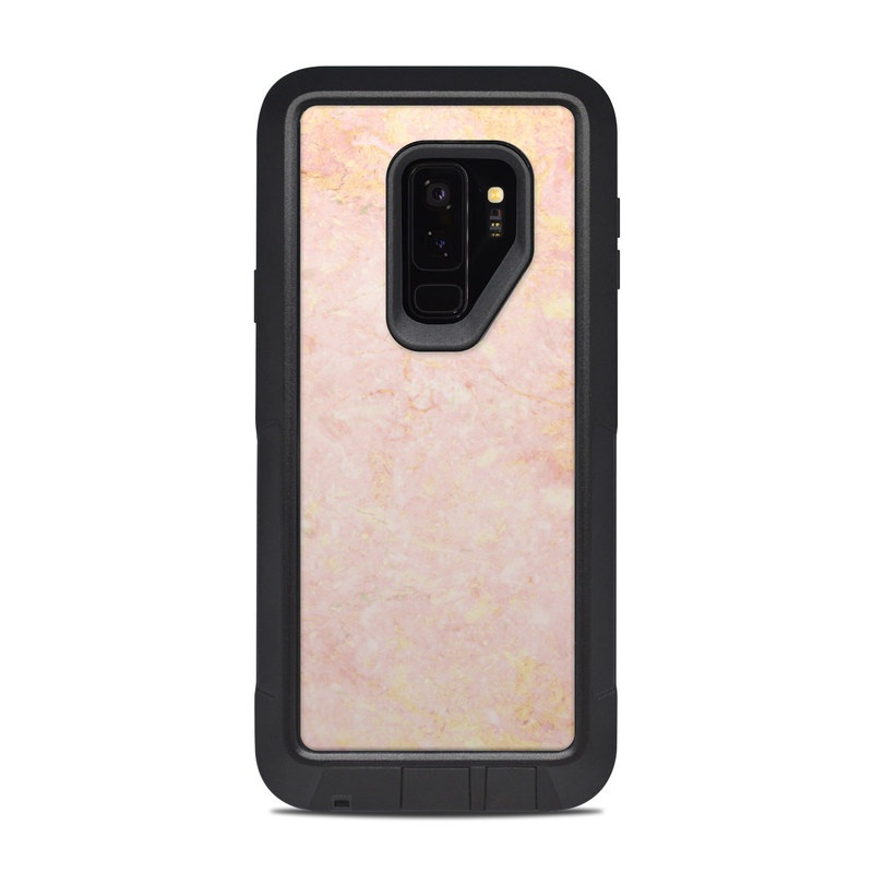 new product 067d0 a7034 OtterBox Pursuit Galaxy S9 Plus Case Skin - Rose Gold Marble