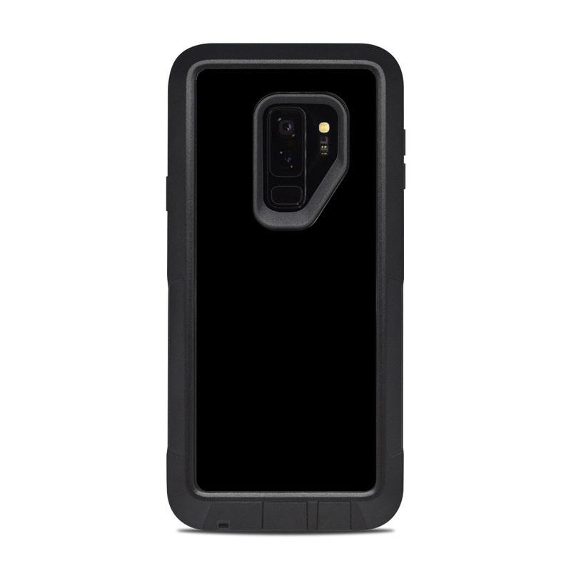 newest 0f2f4 188b9 OtterBox Pursuit Galaxy S9 Plus Case Skin - Solid State Black