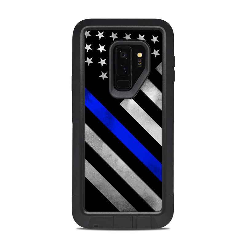 wholesale dealer de9eb 6510f OtterBox Pursuit Galaxy S9 Plus Case Skin - Thin Blue Line Hero by  DecalGirl Collective