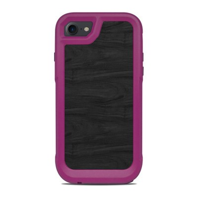 OtterBox Pursuit iPhone 7-8 Case Skin - Black Woodgrain
