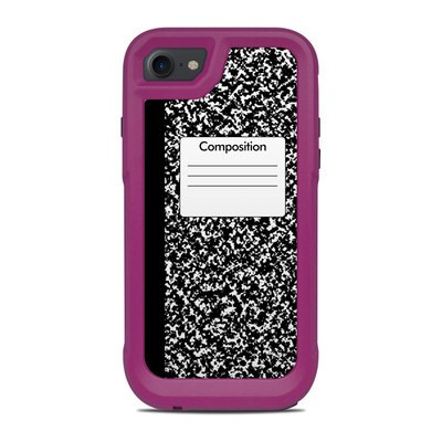 OtterBox Pursuit iPhone 7-8 Case Skin - Composition Notebook