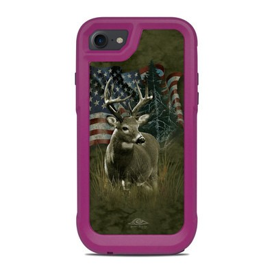 OtterBox Pursuit iPhone 7-8 Case Skin - Deer Flag