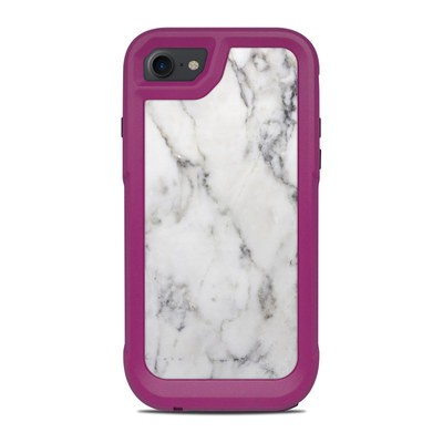 OtterBox Pursuit iPhone 7-8 Case Skin - White Marble