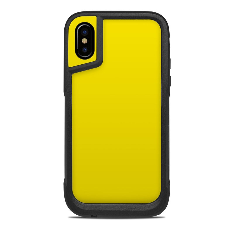 a7ea2b4985 OtterBox Pursuit iPhone X Case Skin - Solid State Yellow by Solid ...