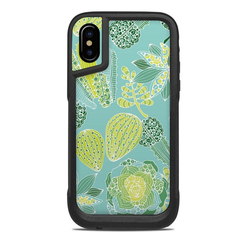 sale retailer 7b1b4 dab83 OtterBox Pursuit iPhone X Case Skin - Succulents