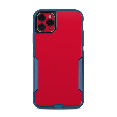 OtterBox Commuter iPhone 11 Pro Max Case Skin - Solid State Red