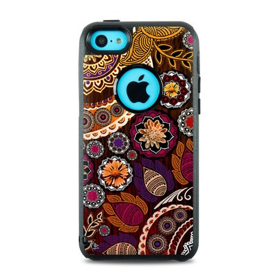 OtterBox Commuter iPhone 5c Case Skin - Autumn Mehndi