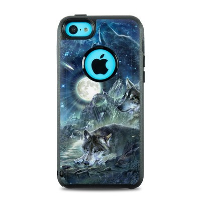 OtterBox Commuter iPhone 5c Case Skin - Bark At The Moon