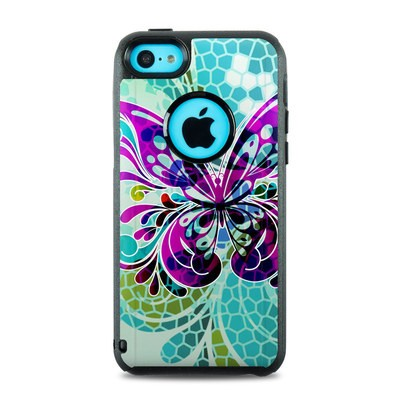 OtterBox Commuter iPhone 5c Case Skin - Butterfly Glass