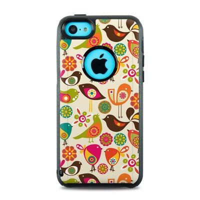 OtterBox Commuter iPhone 5c Case Skin - Bird Flowers