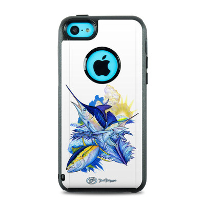 OtterBox Commuter iPhone 5c Case Skin - Blue White and Yellow
