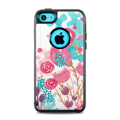OtterBox Commuter iPhone 5c Case Skin - Blush Blossoms