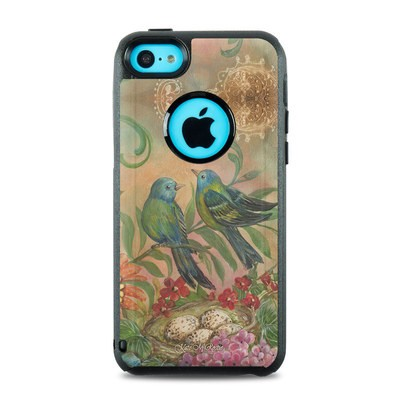 OtterBox Commuter iPhone 5c Case Skin - Splendid Botanical
