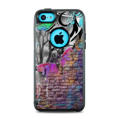 OtterBox Commuter iPhone 5c Case Skin - Butterfly Wall