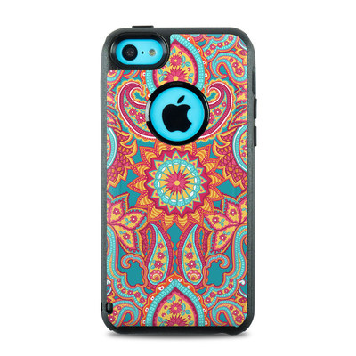 OtterBox Commuter iPhone 5c Case Skin - Carnival Paisley