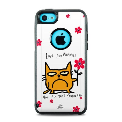 OtterBox Commuter iPhone 5c Case Skin - Catwad Happy