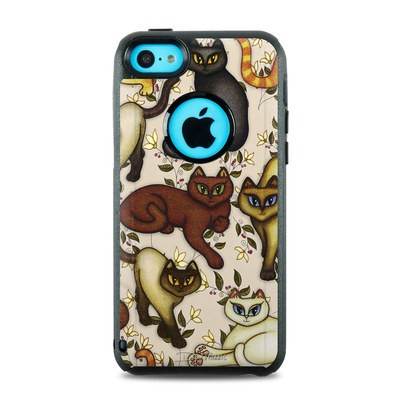 OtterBox Commuter iPhone 5c Case Skin - Cats