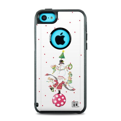 OtterBox Commuter iPhone 5c Case Skin - Christmas Circus