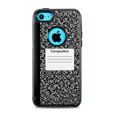 OtterBox Commuter iPhone 5c Case Skin - Composition Notebook