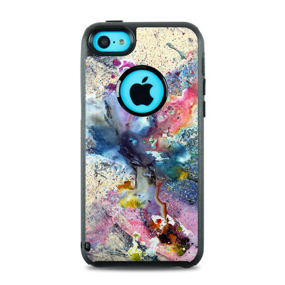 OtterBox Commuter iPhone 5c Case Skin - Cosmic Flower