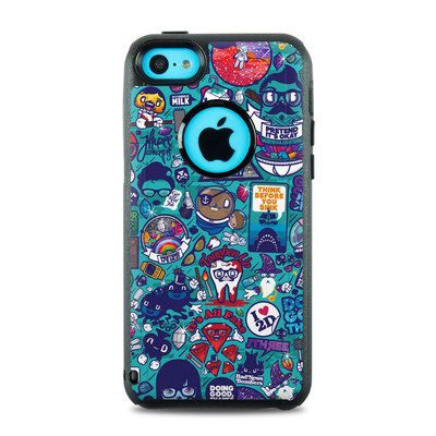 OtterBox Commuter iPhone 5c Case Skin - Cosmic Ray