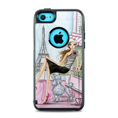 OtterBox Commuter iPhone 5c Case Skin - Cafe Paris