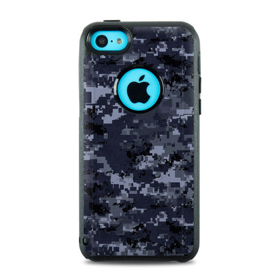 OtterBox Commuter iPhone 5c Case Skin - Digital Navy Camo