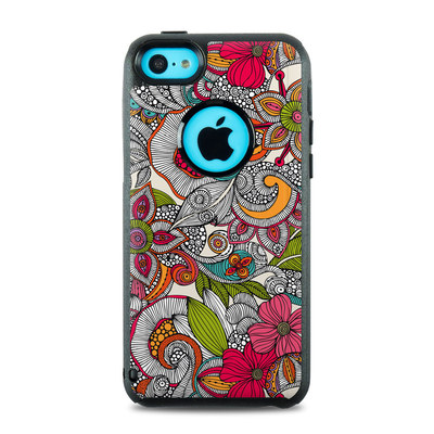 OtterBox Commuter iPhone 5c Case Skin - Doodles Color