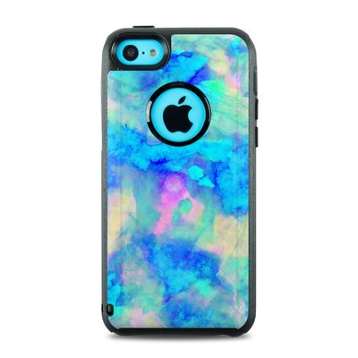 OtterBox Commuter iPhone 5c Case Skin - Electrify Ice Blue